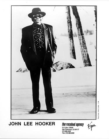 John Lee Hooker Promo Print  : 8x10 RC Print