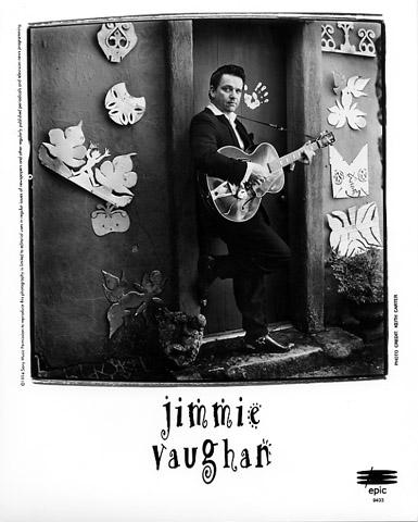 Jimmie Vaughan Promo Print  : 8x10 RC Print
