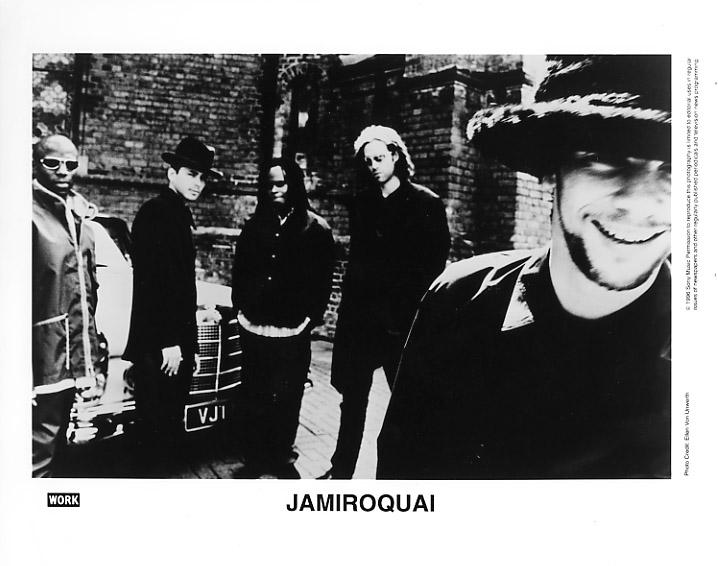 Jamiroquai Promo Print  : 8x10 RC Print
