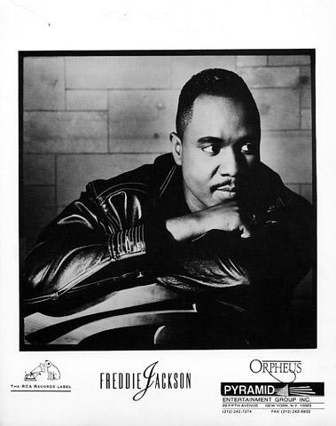 Freddie Jackson Promo Print  : 8x10 RC Print