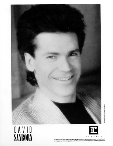 David Sanborn Promo Print  : 8x10 RC Print