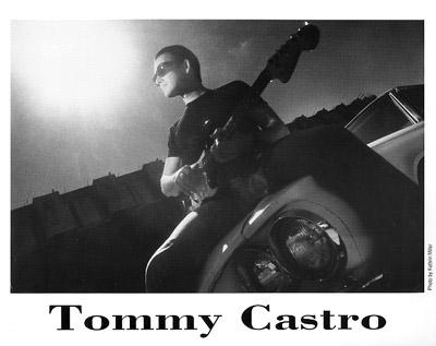 Tommy Castro Promo Print  : 8x10 RC Print