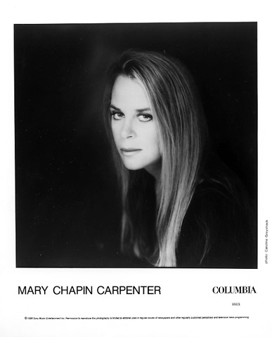 Mary Chapin Carpenter Promo Print  : 8x10 RC Print