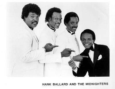 Hank Ballard & the Midnighters Promo Print  : 8x10 RC Print
