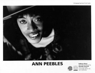 Ann Peebles Promo Print  : 8x10 RC Print