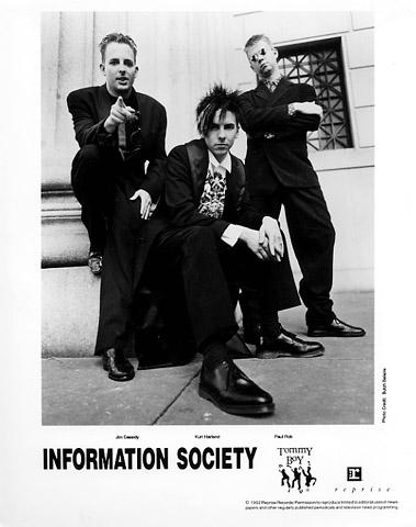 Information Society Promo Print  : 8x10 RC Print