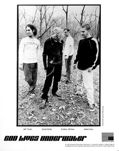 God Lives Underwater Promo Print  : 8x10 RC Print