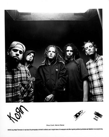 Korn Promo Print  : 8x10 RC Print