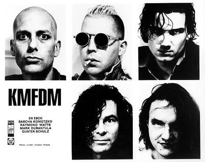 KMFDM Promo Print  : 8x10 RC Print