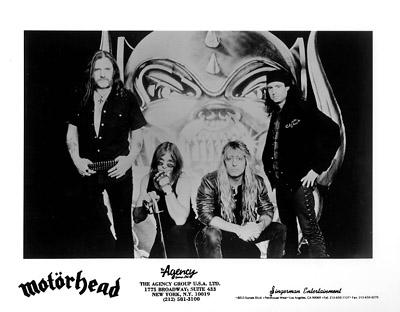 Motorhead Promo Print  : 8x10 RC Print