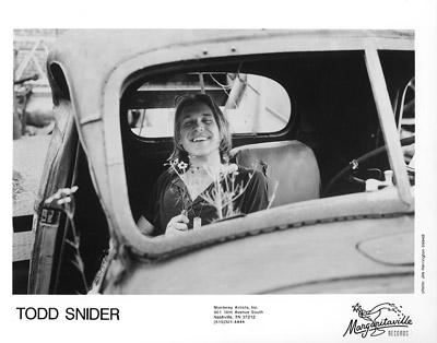 Todd Snider Promo Print  : 8x10 RC Print