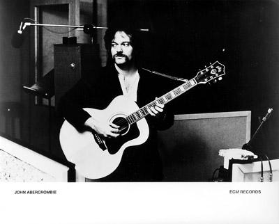 John Abercrombie Promo Print  : 8x10 RC Print