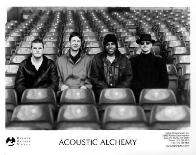 Acoustic Alchemy Promo Print  : 8x10 RC Print