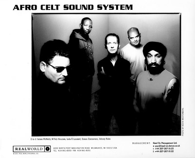Afro Celt Sound System Promo Print  : 8x10 RC Print