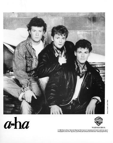 A-Ha Promo Print  : 8x10 RC Print