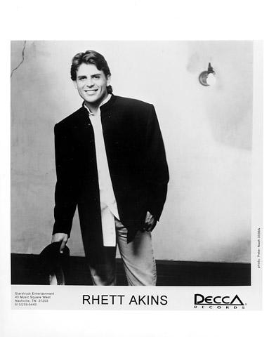 Rhett Akins Promo Print  : 8x10 RC Print