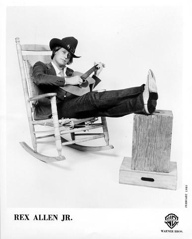 Rex Allen Jr. Promo Print  : 8x10 RC Print