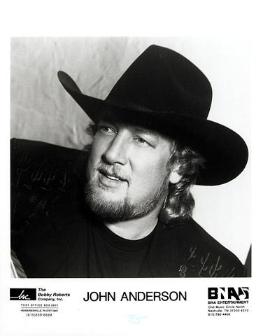 John Anderson Promo Print  : 8x10 RC Print