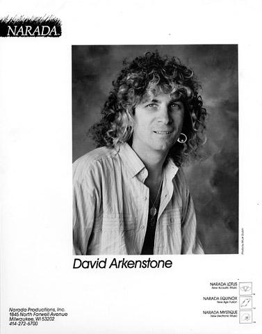 David Arkenstone Promo Print  : 8x10 RC Print