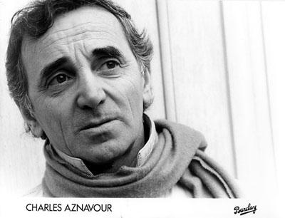 Charles Aznavour Promo Print  : 7x9 1/2 RC Print