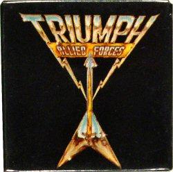 """Triumph Vintage Pin  : 2 1/8"""" x 2 1/8"""" Pin"""