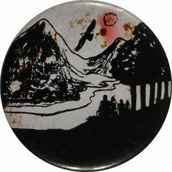 """Landscape Vintage Pin  : 2 1/4"""" x 2 1/4"""" Pin"""
