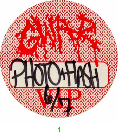 GWAR Backstage Pass  : Pass 1