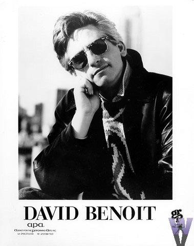 David Benoit Promo Print  : 8x10 RC Print