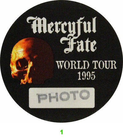 Mercyful Fate Backstage Pass  : Pass 1