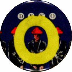 """Devo Vintage Pin  : 1 1/2"""" x 1 1/2"""" Pin"""