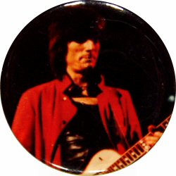"Ron Wood Vintage Pin  : 2 1/12"" x 2 1/2"" Pin"
