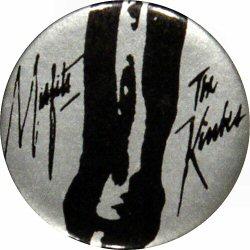 "The Kinks Vintage Pin  : 1 3/4"" x 1 3/4"" Pin"