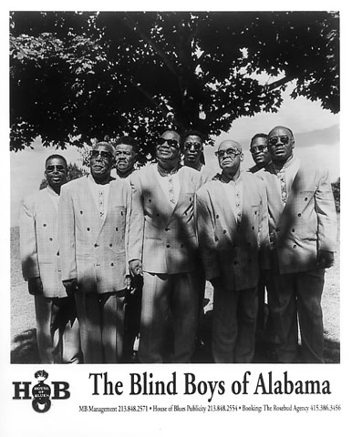 The Blind Boys of Alabama Promo Print  : 8x10 RC Print