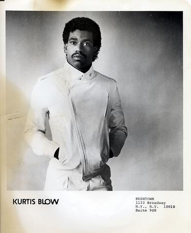 Kurtis Blow Promo Print  : 8x10 RC Print
