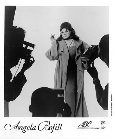 Angela Bofill Promo Print  : 8x10 RC Print