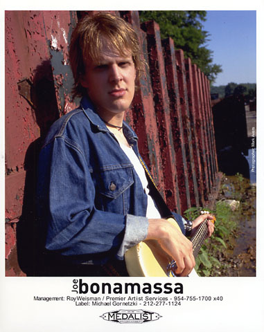 Joe Bonamassa Promo Print  : 8x10 RC Print