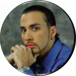 Howie Dorough Vintage Pin  : 1 1/2&quot; x 1 1/2&quot; Pin