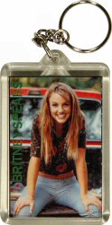 Britney Spears Plastic Keychain  : Plastic Keychain