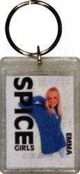 Emma Bunton Plastic Keychain  : Plastic Keychain
