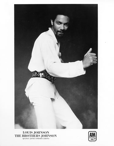 Louis Johnson Promo Print  : 8x10 RC Print