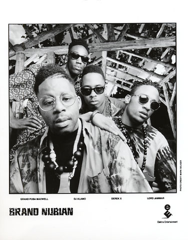 Brand Nubian Promo Print  : 8x10 RC Print