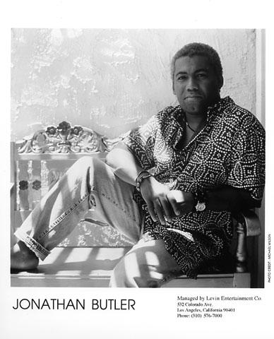 Jonathan Butler Promo Print  : 8x10 RC Print