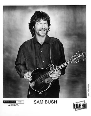 Sam Bush Promo Print  : 8x10 RC Print