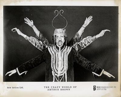 The Crazy World of Arthur Brown Promo Print  : 8x10 RC Print