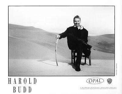 Harold Budd Promo Print  : 8x10 RC Print