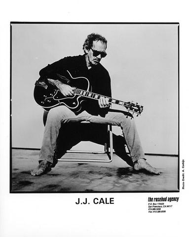 J.J. Cale Promo Print  : 8x10 RC Print