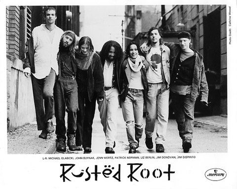 Rusted Root Promo Print  : 8x10 RC Print