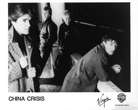 China Crisis Promo Print  : 8x10 RC Print