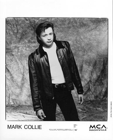 Mark Collie Promo Print  : 8x10 RC Print