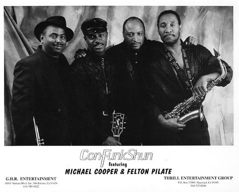Con Funk Shun Promo Print  : 8x10 RC Print